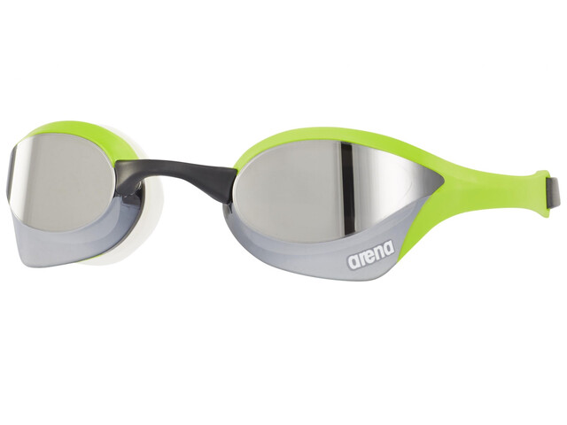 arena Cobra Ultra Mirror Goggles silver-green-white